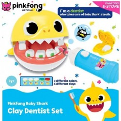 PINKFONG CLAY DENTIST PLAY SET