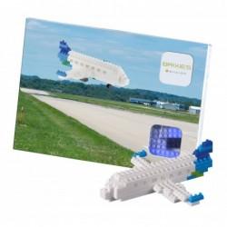 Brixies Postcard Airplane...