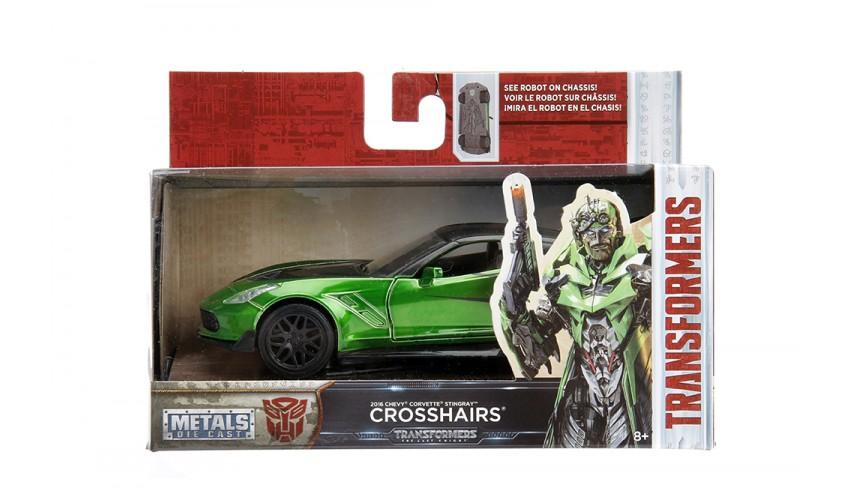 Jada Transformers Corvette C8 Zora-Crosshairs