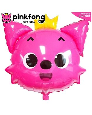 Pinkfong / Baby Shark Face Balloon With Stick