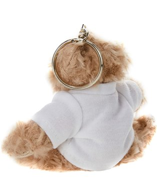 Qr Plush Teddy Key Chain (101.015)