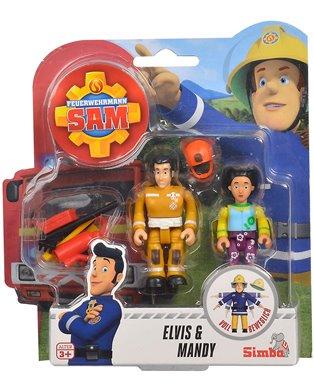 Fireman Sam Fig Doublepack Iii, 4-Asst