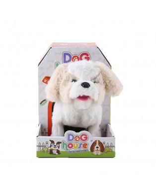 B/O White Jumping Dog