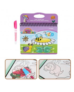 Water Doodle Book - insects
