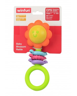 Baby Blossom Rattle (000182)